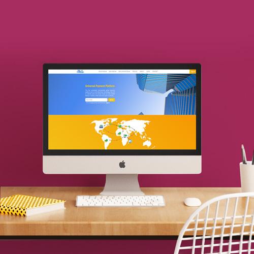 Webdesign pour le site WeCashUp