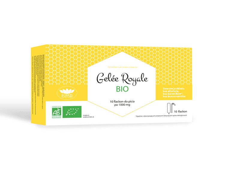 Facing packaging Gelée Royale